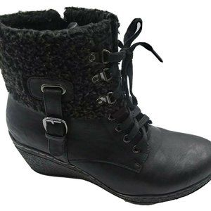 PATRIZIA Iceland Wedge Heel Sherpa Lined Boots 11
